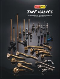 Tire Valve And Valve Extension
