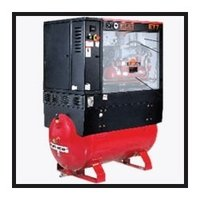 Tank Mounted Screw Air Compressors-5kw-11kw