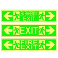 Commercial Emergency Exit Sign Boards