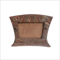 Brown Leather Photo Frame