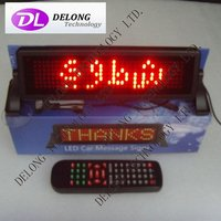 LED Car Display 7*35