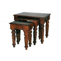 Wooden Tables And Stools