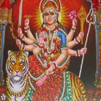 Durga Maa Photo Frame
