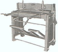 Treadle Shears