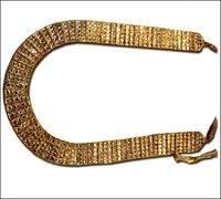 Kundan Meena Full Size Necklace Set