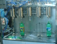 Semi Automatic Carbonated Beverage Filling Machine