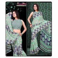 Casual Fashionable Printed Saree