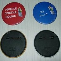 Plastic Metal Paper Badges