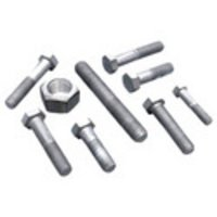 Hot Dip Galvanized Bolts And Nuts