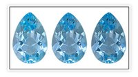 Skyblue Synthetic Gemstone