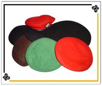 Colourful Beret Caps