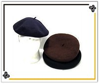 Woolen Basque Beret Caps