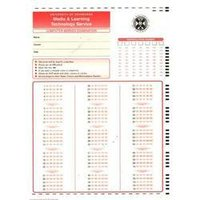 Omr Answer Sheet / Omr Form Paper