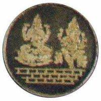 Laxshmi Ganesh Gold Coin