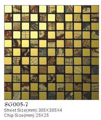 Gold Wire Jade Series Mosaics