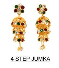 Four Step Jhumka