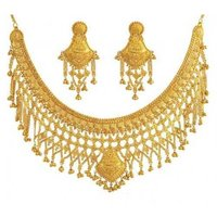 Heavy Bridal Gold Necklace Sets