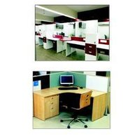 Modular office furniture