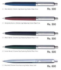 Nickel Plate Trim Pen