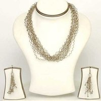 Necklace Set(Silver)