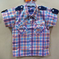 Kids Check Shirt