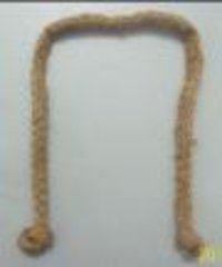 Jute Natural Knit Braided Cords