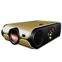 High Resolution LED Home Cinema Projector