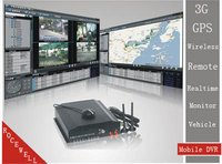 3G GPS 4CH Realtime H. 264 Remote Wireless Monitor Mobile DVR EXW Inter-Conversation (RC-8004H3C)