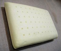 Normal Shaped Molded Memory Foam Pillow With Holes Punches