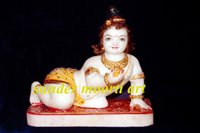Marble Bal Gopal Statues