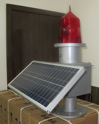 Solar LED Aviation Obstruction Lights