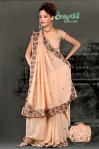 Lezar Based Exclusive Saree