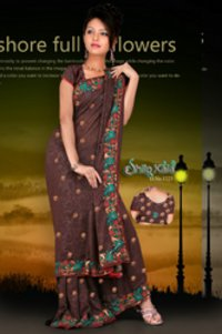 Lezar Based Saree