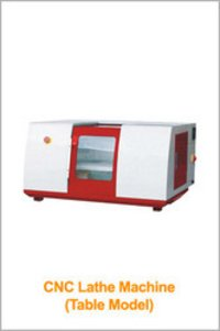 CNC Lathe Machine (Table Model)