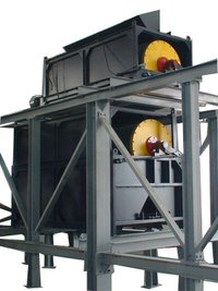 Dry Permanent Drum Magnetic Separator For Fine Ore