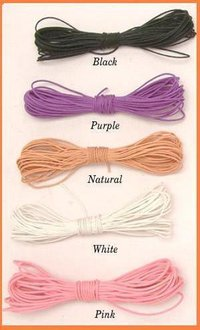 Waxed Cotton Cords