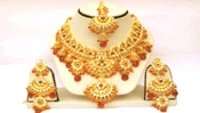 Gold Traditional Necklace