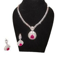Ruby Or Diamond Necklaces