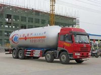 Faw 4 Axle Lpg Transporting Tanker Truck