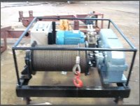 Flameproof Winch