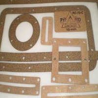 Rubberised Cork Gaskets