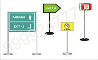 Way Finding Backlit Exit Direction Sign