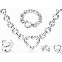 Silver Imitation Jewellery Set