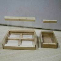 Wooden Silver Coin Boxes 