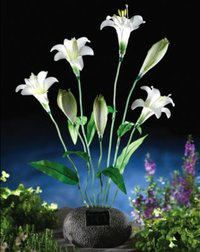 Solar Lily Garden Light Decoration