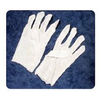 Cotton Hosiery White Gloves