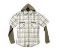 Boys Hooded Shirt