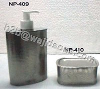 Net Soap Dish Nickel Plated Square
