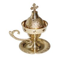 Designer Brass Incense Burner