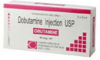 Obutamine Dobutamine Injection Usp